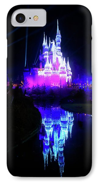 IPhone Case featuring the photograph A Disney New Year by Mark Andrew Thomas