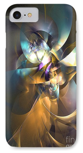 A Distant Melody IPhone Case by Sipo Liimatainen