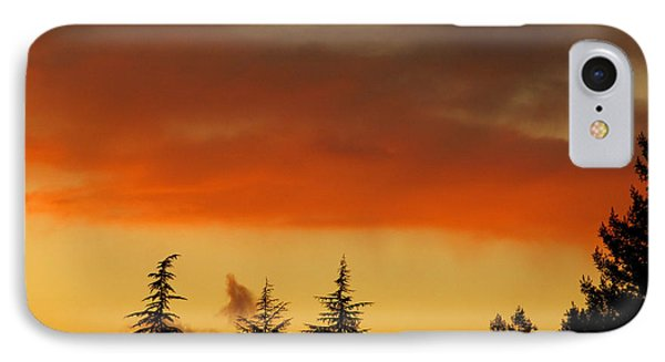 IPhone Case featuring the photograph A Distant Rain by CML Brown