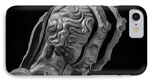 A Divided Mind IPhone Case by Joe Paradis
