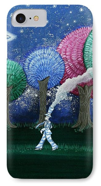A Dream In The Forest Phone Case by Graciela Bello