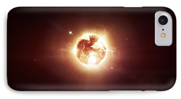 A Dying Star Which Will Soon Give New Phone Case by Tomasz Dabrowski