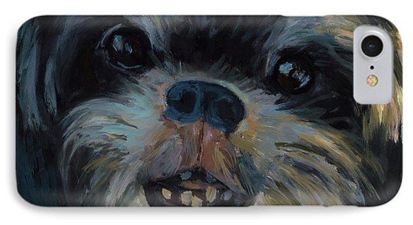 A Face Only A Mother Could Love IPhone Case by Billie Colson