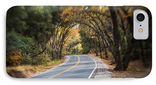 A Fall Roadway IPhone Case