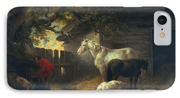 A Farmyard IPhone Case by George Morland