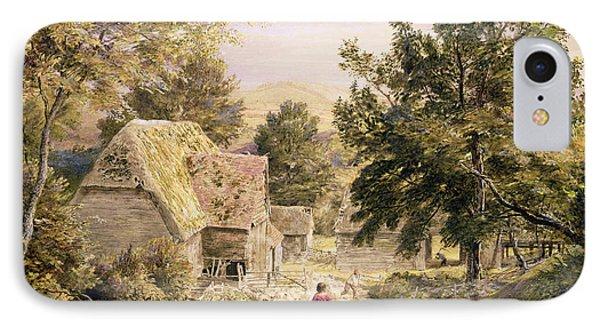 A Farmyard Near Princes Risborough Phone Case by Samuel Palmer