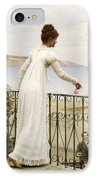A Favour IPhone Case by Edmund Blair Leighton