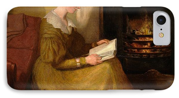 A Fireside Read IPhone Case