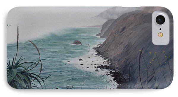 A Fog Creeps In IPhone Case by Barbara Barber