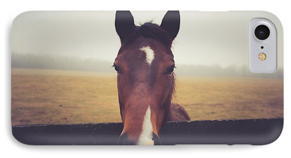 IPhone Case featuring the photograph A Foggy Christmas Day by Shane Holsclaw