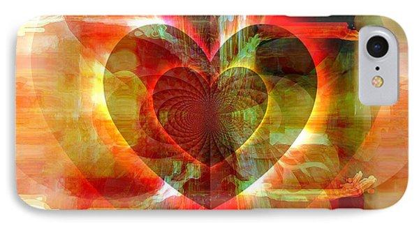 A Forgiving Heart IPhone Case by Fania Simon