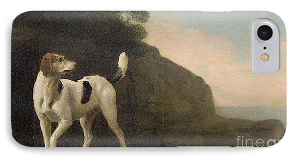 A Foxhound Phone Case by George Stubbs