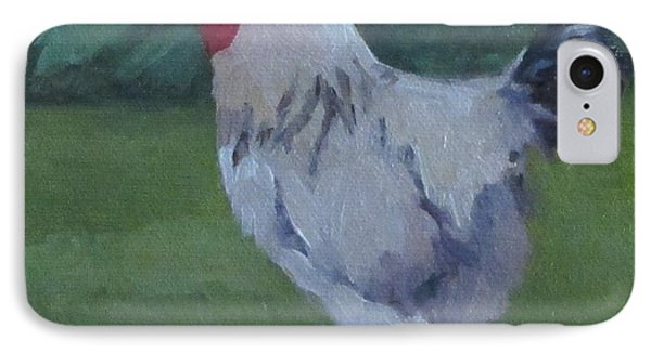IPhone Case featuring the painting A French Rooster by Jennifer Boswell