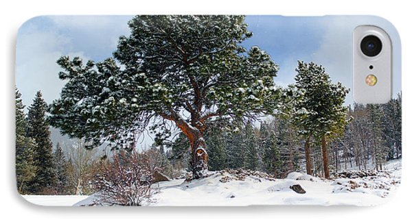 IPhone Case featuring the photograph A Fresh Blanket Of Snow by Shane Bechler