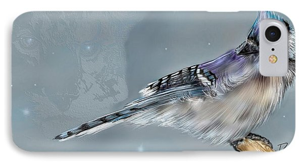 IPhone Case featuring the digital art A Friend For Lunch Three by Darren Cannell