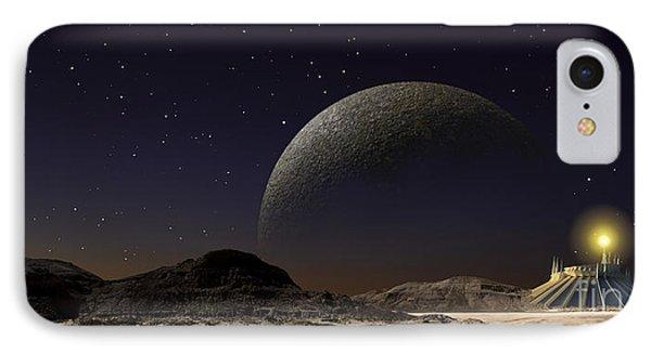 A Futuristic Space Scene Inspired IPhone Case