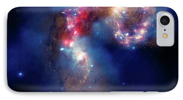 IPhone Case featuring the photograph A Galactic Spectacle by Marco Oliveira