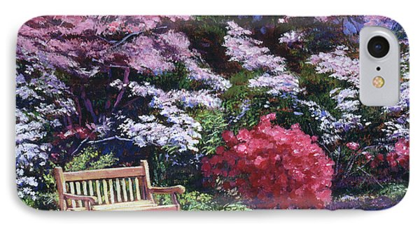 A Garden Place IPhone Case by David Lloyd Glover