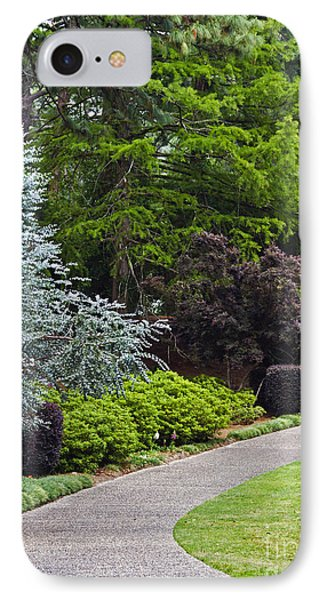 A Garden Walk IPhone Case by Ken Frischkorn