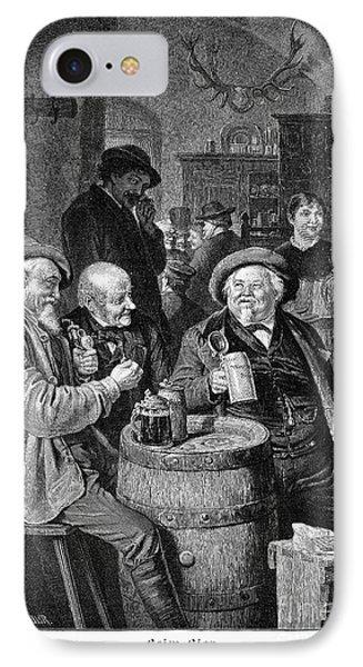 A German Tavern Phone Case by Granger