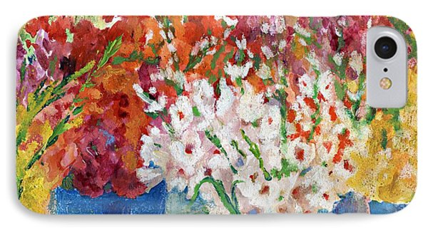 A Gladiola Party Phone Case by Jimmie Trotter