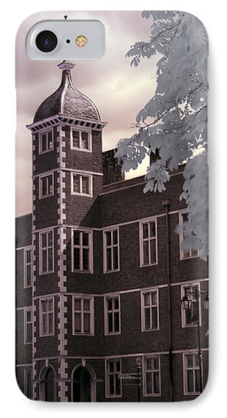 A Glimpse Of Charlton House, London IPhone Case by Helga Novelli
