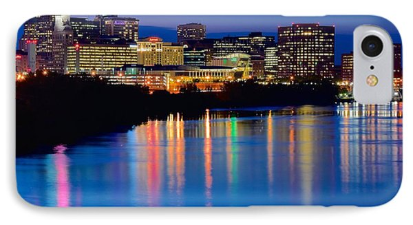 A Glorious Night In Hartford IPhone Case by Frozen in Time Fine Art Photography
