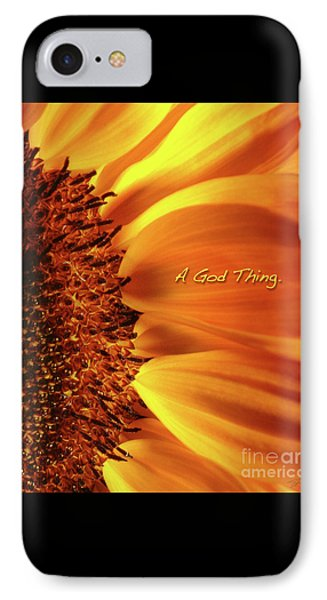 A God Thing-2 Phone Case by Shevon Johnson