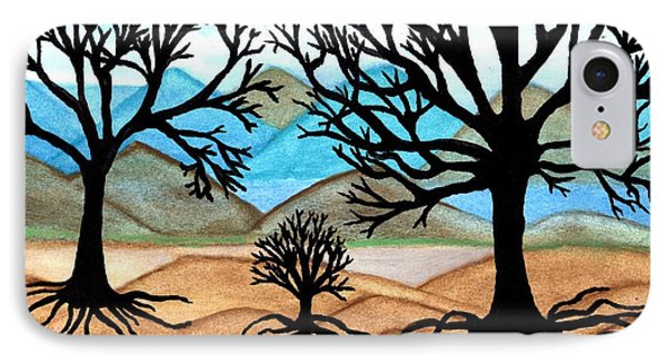 IPhone Case featuring the painting A Good Foundation by Connie Valasco