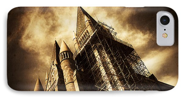 A Gothic Construction IPhone Case