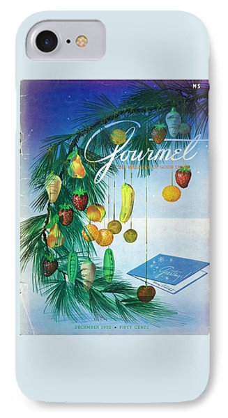 A Gourmet Cover Of Marzipan Fruit IPhone Case by Henry Stahlhut