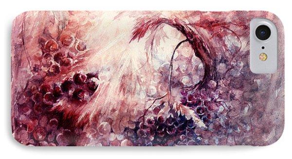 A Grape Fairy Tale Phone Case by Rachel Christine Nowicki
