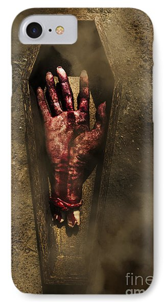 A Gravely Farewell IPhone Case by Jorgo Photography - Wall Art Gallery