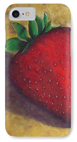 A Great Big Strawberry Phone Case by Helen Eaton