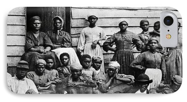 A Group Of Slaves Phone Case by Photo Researchers