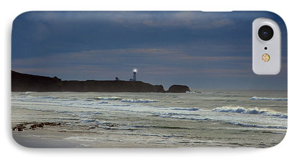 IPhone Case featuring the photograph A Guiding Light by Jim Walls PhotoArtist