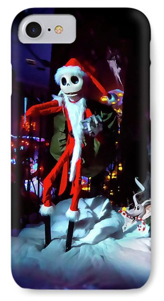 A Haunted Christmas IPhone Case by Mark Andrew Thomas