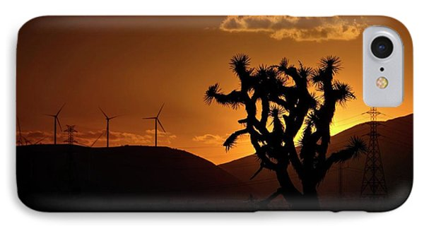 IPhone Case featuring the photograph A Holy Joshua Tree by Peter Thoeny