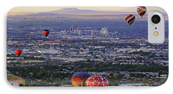 A Hot Air Ride To Albuquerque Cropped IPhone Case