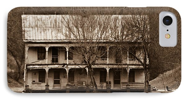 A House From The Past IPhone Case by Douglas Barnett