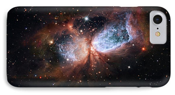 IPhone Case featuring the photograph A Composite Image Of The Swan by Nasa