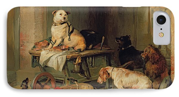 A Jack In Office IPhone Case by Sir Edwin Landseer