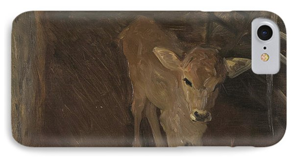 A Jersey Calf, 1893 IPhone Case by John Singer Sargent