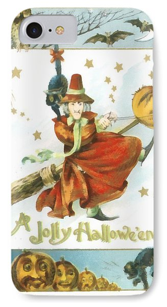 A Jolly Halloween IPhone Case by Unknown