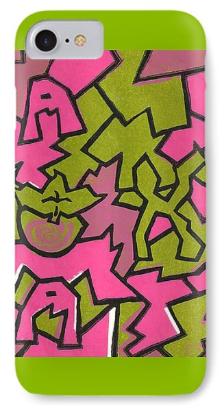 A K A Abstract IPhone Case by BFly Designs