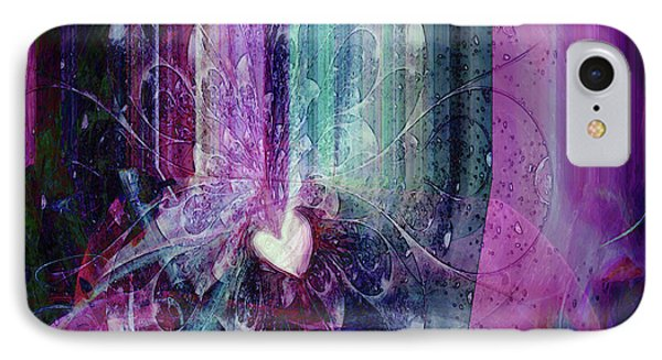 IPhone Case featuring the digital art A Kind Heart by Linda Sannuti