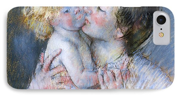 A Kiss For Baby Anne IPhone Case