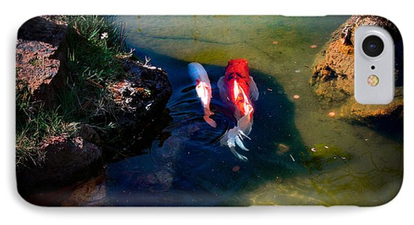 A Koi Romance IPhone Case