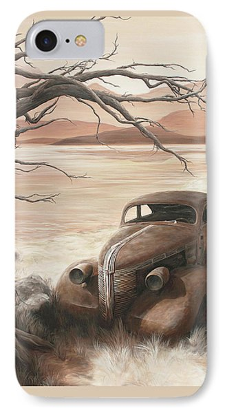 A Lakeshore Drive Phone Case by Janice Smith
