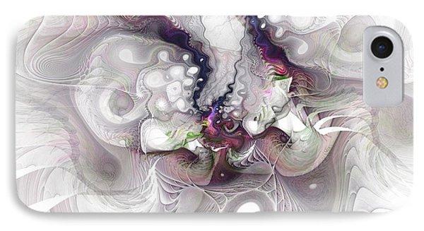 A Leap Of Faith - Fractal Art IPhone Case by NirvanaBlues